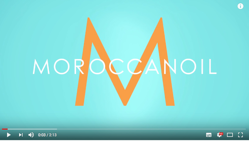 moroccan oil video screen