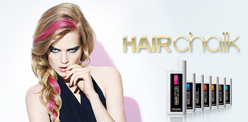 L'Oréal professional Hair Chalk at Antonio Hair Design